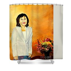 My Wife Shower Curtain