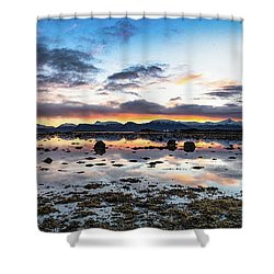 Myre Swapm Walkway On Vesteralen Norway Shower Curtain