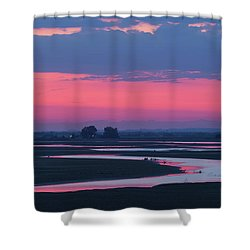 Mystical River Shower Curtain