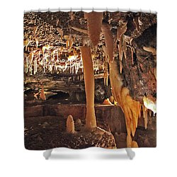 Natural Tunnel Shower Curtain
