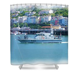 Naval Vessel Shower Curtain