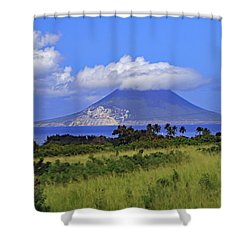 Shower Curtain featuring the photograph Nevis by Tony Murtagh