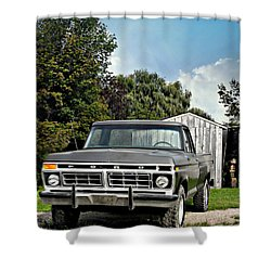 Nice Tires Shower Curtain