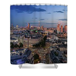 Shower Curtain featuring the photograph Night And Day by Stewart Marsden