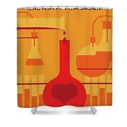 No976 My The Nutty Professor Minimal Movie Poster Shower Curtain