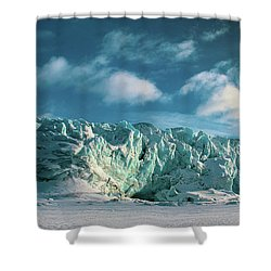 Nordenskioldbreen Shower Curtain