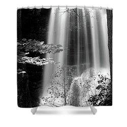 North Carolina Falls Shower Curtain