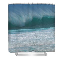 North Shore Surf's Up Shower Curtain