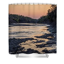 North Sulphur Shower Curtain