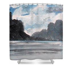 Norwegian Splendour Shower Curtain