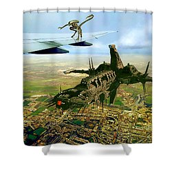 Not The Trip We Planned Shower Curtain