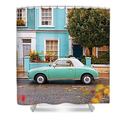 Notting Hill Vibes Shower Curtain