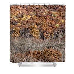 November Color - Shower Curtain