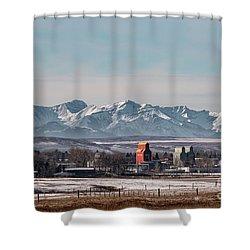 November Nanton Shower Curtain