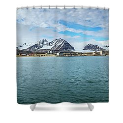 Ny Alesund Shower Curtain