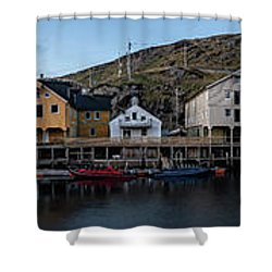 Nyksund Vesteralen Shower Curtain