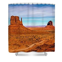 Shower Curtain featuring the photograph Ocean Front Property In Arizona by David Morefield