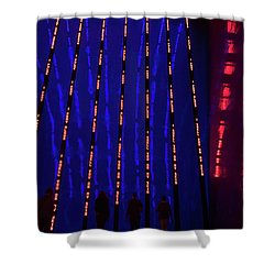 Shower Curtain featuring the photograph Off To The Data Mines by Alex Lapidus