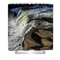 Ohiopyle Falls 1 Shower Curtain