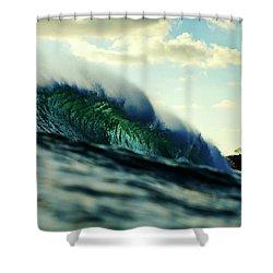 ola Verde Shower Curtain