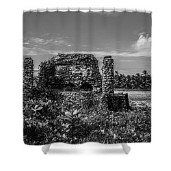 Shower Curtain featuring the photograph Old Brick Oven by Stuart Manning