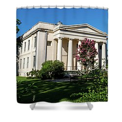 Old Medical College - Augusta Ga Shower Curtain
