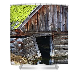 Old Well House #1 Shower Curtain