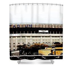 Old Yankee Stadium Shower Curtain