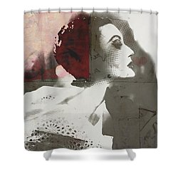 Girls Kissing Shower Curtains