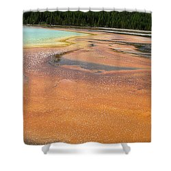 Orange River Shower Curtain