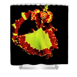 Orchid Study Nine Shower Curtain