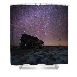 Shower Curtain featuring the photograph Orion  by Aaron J Groen
