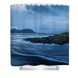 Overflow Shower Curtain
