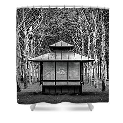 Pagoda Shower Curtain