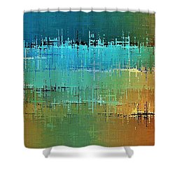 Painted Desert Shower Curtain