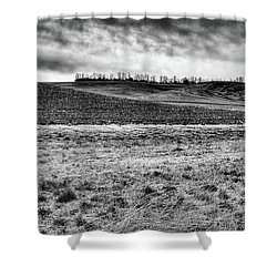 Shower Curtain featuring the photograph Palouse Treeline by David Patterson