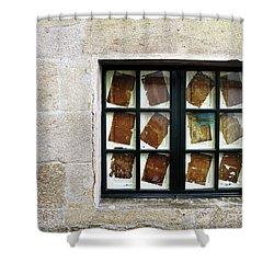 Parchment Panes Shower Curtain