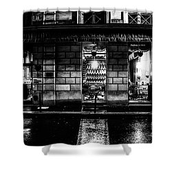 Paris At Night - Rue Bonaparte 2 Shower Curtain