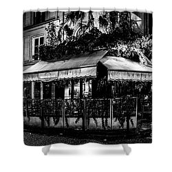 Paris At Night - Rue De Buci Shower Curtain