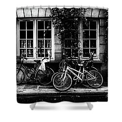 Paris At Night - Rue Poulletier Shower Curtain