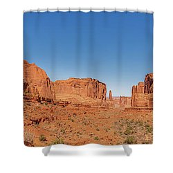 Shower Curtain featuring the photograph Park Avenue Stroll by Andy Crawford