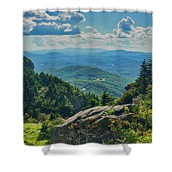 Parkway Overlook Shower Curtain