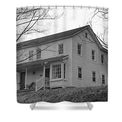 Pastors House - Waterloo Village Shower Curtain