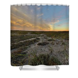 Paths In The Sky Shower Curtain