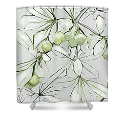 Patio Print Shower Curtain