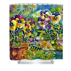 Patio Visitor Shower Curtain