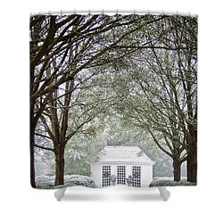 Peaceful Holiday Shower Curtain