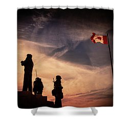 Peacekeepers Shower Curtain
