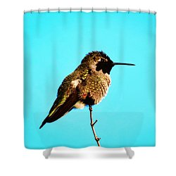 Perfect Posing Shower Curtain