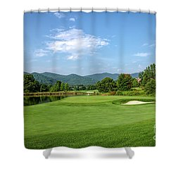 Perfect Summer Day Shower Curtain